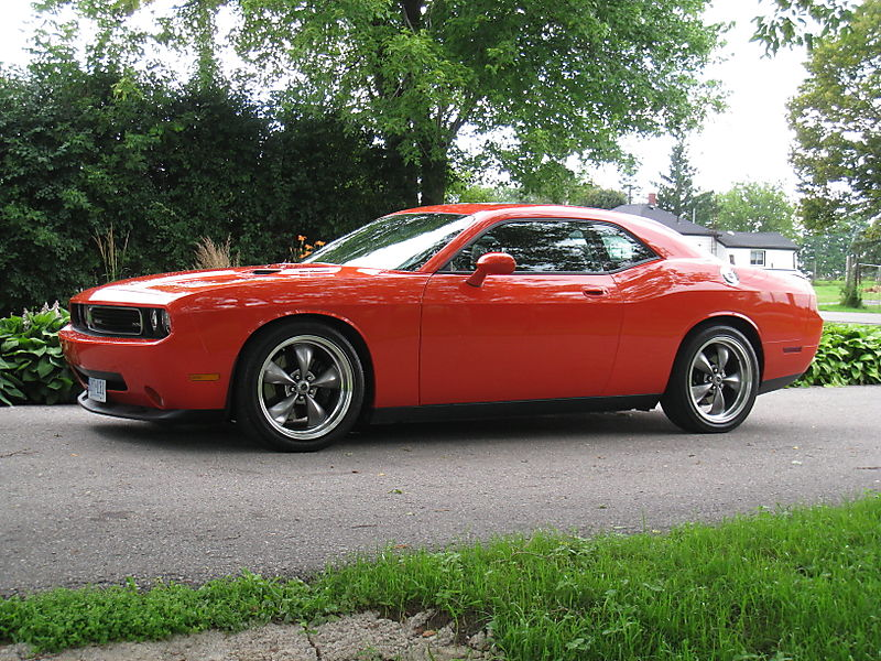Challenger With Wheels