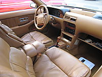 Chrysler TC interior