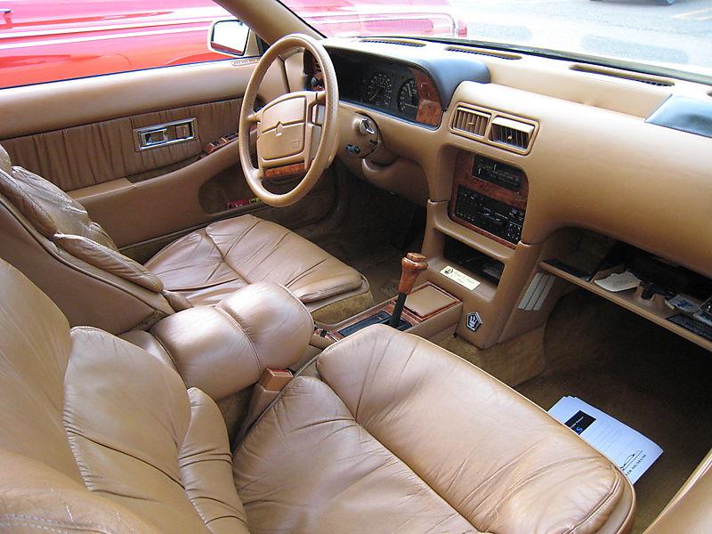 Chrysler TC interior