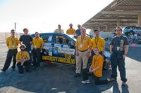 The team with the car
