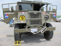 1944 Chevrolet artillery tractor, built in Ontario for use by British soldiers