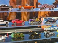 A very small portion of the Hot Wheels lineup