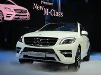 Mercedes M-Class Tech Day 6