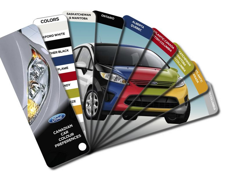 FORD Car Colour Release Graphic