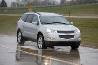 Chevy Traverse - Pothole testing