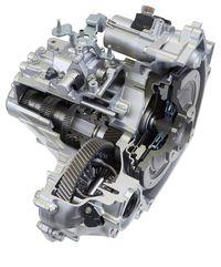 Honda 6-speed manual transmission cross-section