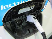 The Leaf's plug will be able to recharge the car or send power to the home - photo by Jil McIntosh
