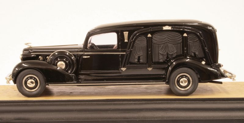 The 1934 Miller LaSalle coach is part of Brooklin Model's professional car collection - photo courtesy Brooklin Models