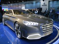 The Hyundai HCD-14 concept, which demonstrates the company's upcoming eye tracking technology (2)