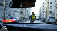 Volvo's system can detect cyclists and stop the car if the driver doesn't - photo courtesy Volvo Cars (2)