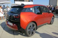 The BMW i3 is made with lightweight, high-tech materials - photo by Jil McIntosh (1)