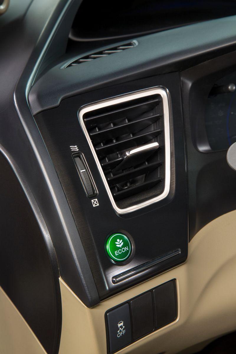 Honda's Econ button helps to save fuel - photo courtesy Honda Canada (2)
