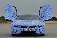 BMW i8 plug-in sports car - photos courtesy BMW10