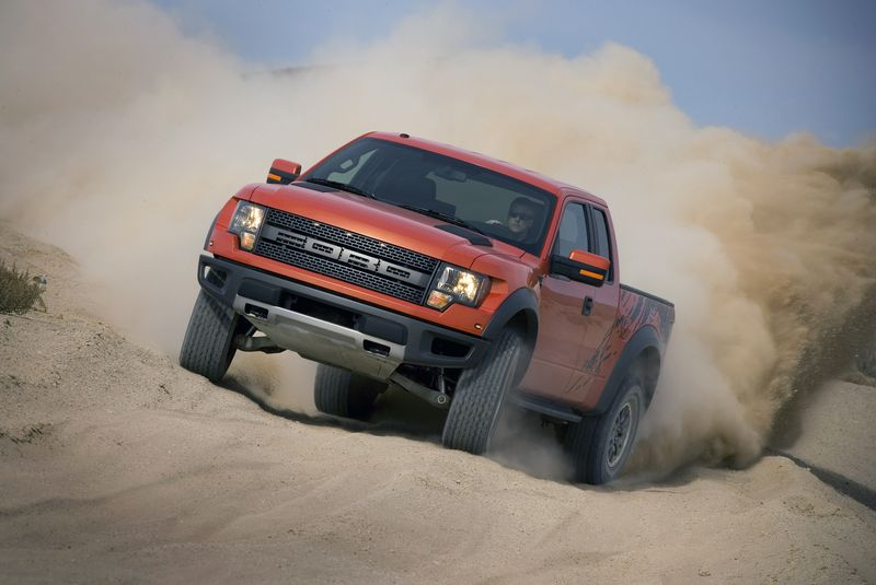 The Ford Raptor's 4WD system is designed for ultimate off-roading - Photo courtesy Ford Motor Company (2)