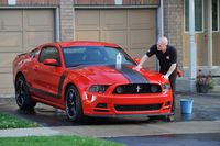 Waxing a car helps preserve the shine - photo courtesy Autoglym Canada (2)