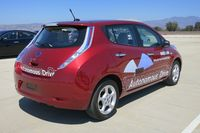 Self-driving Nissan Leaf by Jil McINtosh (2)
