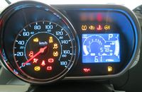Dash cluster warning lights