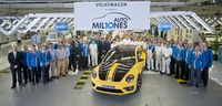 Volkswagen celebrated its 10 millionth car built in Mexico last summer - photo courtesy Volkswagen