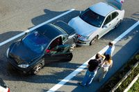 Criminals stage car crashes and then collect from insurance companies - photo courtesy IBC