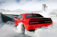 Dodge gets as much as 707 horsepower out of its Challenger engine - photo courtesy Chrysler (4)