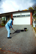 Sealing a driveway will help protect it - photo courtesy Canadian Tire