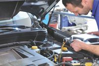 Oil and other fluids are vital to your car's health - photo courtesy Canadian Tire