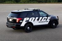 Ford's Police Interceptor SUV is based on an Explorer, but is outfitted specifically for law enforcement - photo courtesy Ford (3)