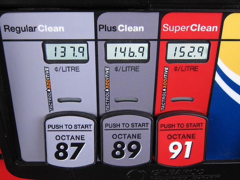 Gas pump - photo by Jil McIntosh