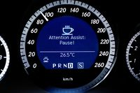 Some cars watch for drowsy drivers, such as on this Mercedes-Benz - photo courtesy Mercedes-Benz