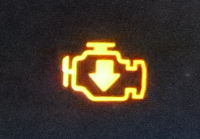 Check engine light - Photo by Jil McIntosh (2)