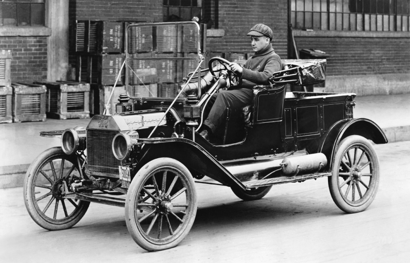 Ford 1912 Model T Photo courtesy Ford