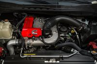The 2016 Nissan Titan will use a V8 diesel that's unique in its segment - photo courtesy Nissan (1)