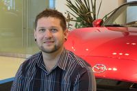 Chuck Reimer, public relations specialist for Mazda, is the bridge between the automaker and media - photo by Jil McIntosh (3)