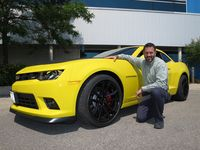 Anthony Lyscio worked on several Camaro projects, including the track-ready Z28's suspension - photo by Jil McIntosh (1)