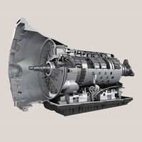 A cutaway shows the inside of Chrysler's eight-speed automatic transmission - photo courtesy FCA