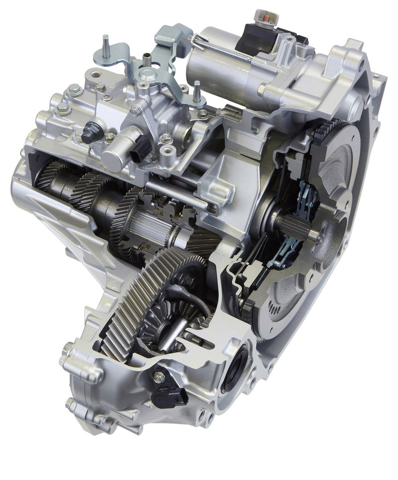 Honda 6-speed manual transmission cross-section