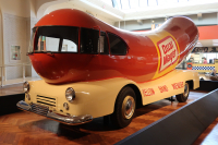 An Oscar Meyer Wienermobile