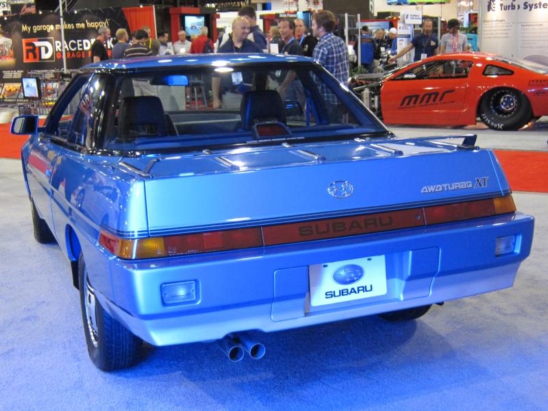 Subaru 1986 XT (1)