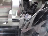 Cutaway of a GDI injector - photo by Jil McIntosh