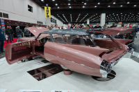The 2019 Ridlger winner  the handbuilt CadMad  started with a 1959 Eldorado Brougham  which didn't have the familiar '59 fins - Photo Jil McIntosh