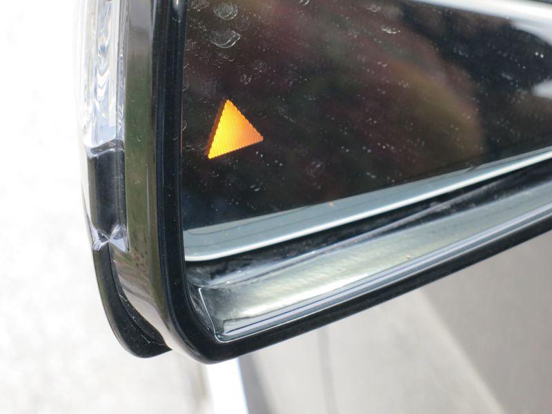 Blind Spot Monitor on Mercedes E-Class