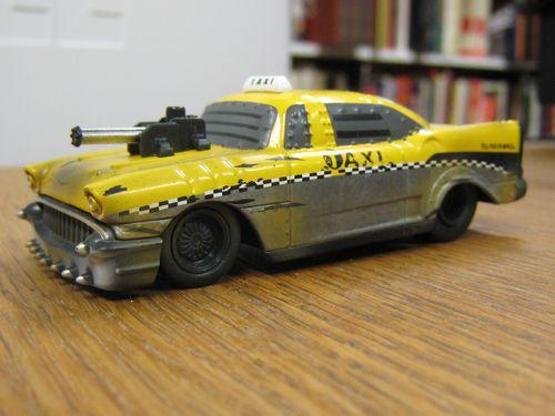 Battle Machines Taxi