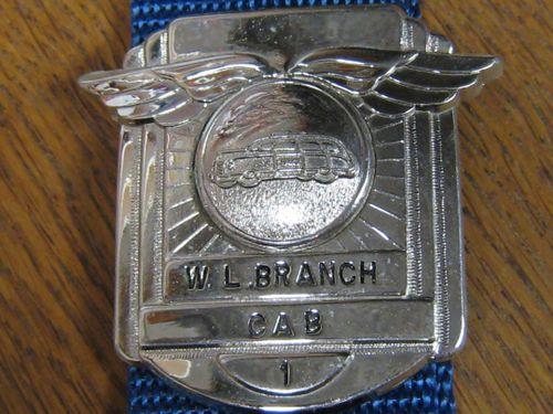 Cap Badge W. L. Branch