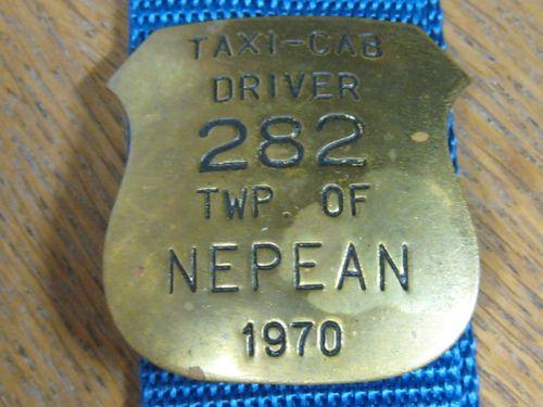 Cap Badge Nepean